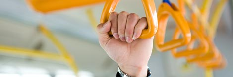 Autobus - Esempio di applicazione del rivestimento antibatterico