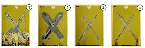Prove comparative di corrosione con primer differenti